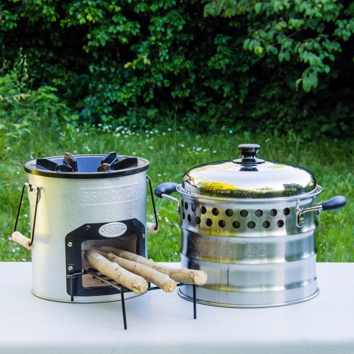 Cascadia Cookstove and Super Pot Combo