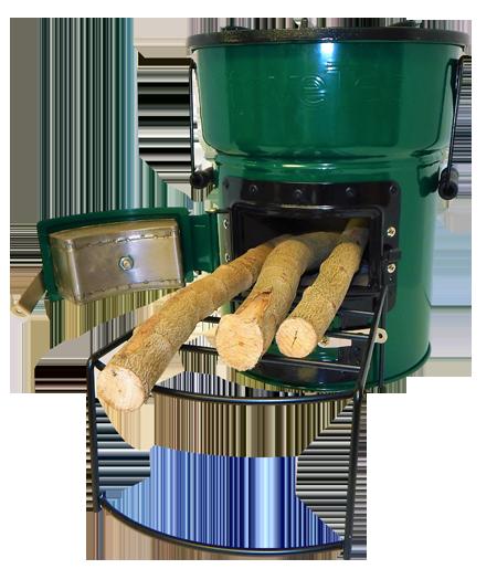 Big Foot Biomass and Charcoal Cookstove