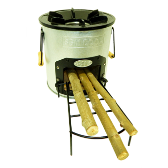 Emergency Wood Cook Stove