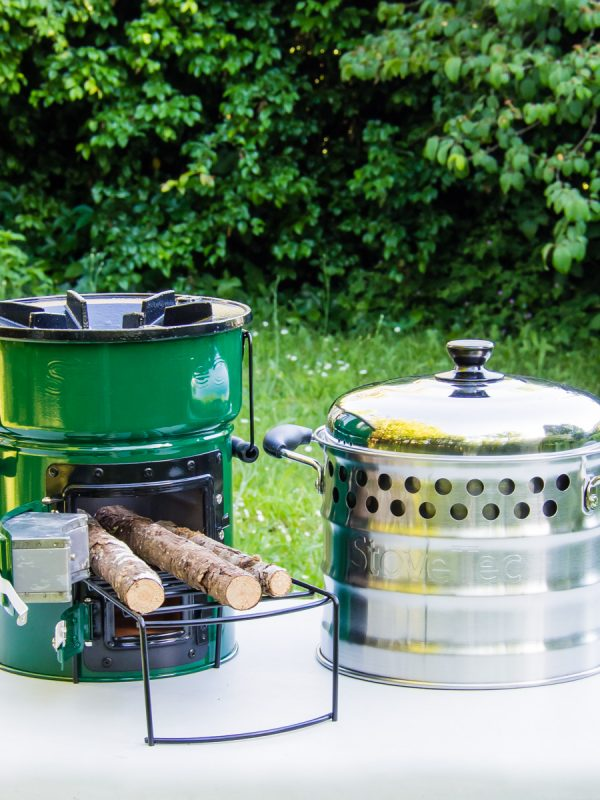 Big Foot Deluxe cookstove and Super Pot combo deal