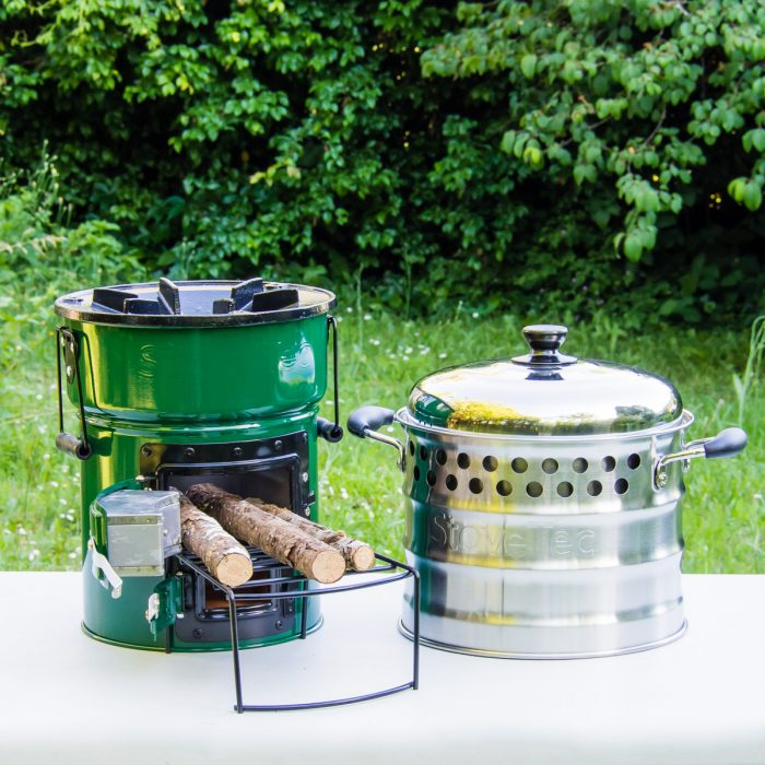 Big Foot Deluxe Cookstove and Super Pot Combo