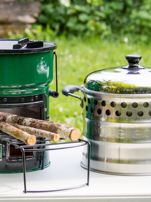 Big Foot Biomass Stove and Super Pot