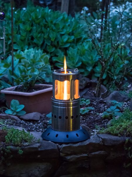 Firefly Wood fired lantern and compact stove
