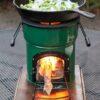Diamond Peak stove cooking